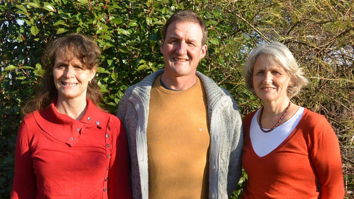 Der derzeitige Vorstand der Damas Alemanas Deutschland besteht aus Margit Thorwart, Siegfried Lechler und Sabine Hettler (v.l.n.r.) Foto © Christine Lechler